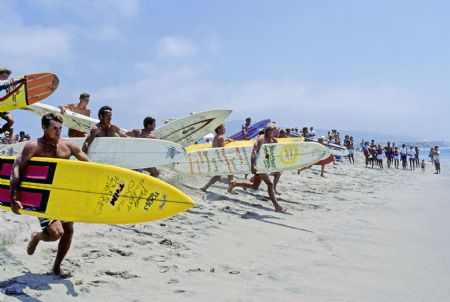 photo 1984-paddle-race-san-clemente-calif.jpg California Dream : Jeff Divine - François Fontaine - photographies