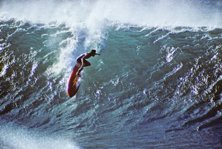 photo gerry-lopez-pipe-drop-1971.jpg California Dream : Jeff Divine - François Fontaine - photographies