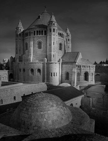 photo Jerusalem - L abbaye de la Dormition sur le mont Sion.jpg Jean-Michel Berts - Exposition Photo