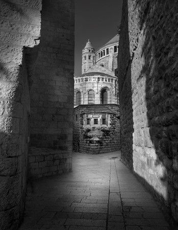 photo Jerusalem - L abbaye de la Dormition.jpg Jean-Michel Berts - Exposition Photo