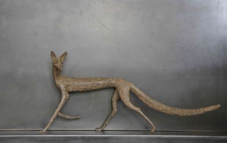photo fox.jpg Sylvie Mangaud - Sculptures