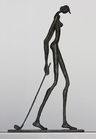 photo golfeuse.png Sylvie Mangaud - Sculptures