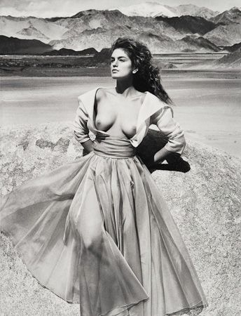 photo 026_Cindy Crawford Leh India 1989 by Patrick Demarchelier.jpg Patrick Demarchelier - Exposition Photo